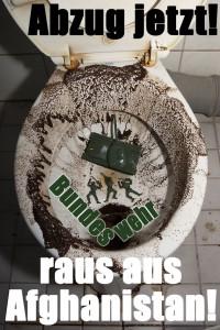 Afghanistan-Plakat (Entwurf)